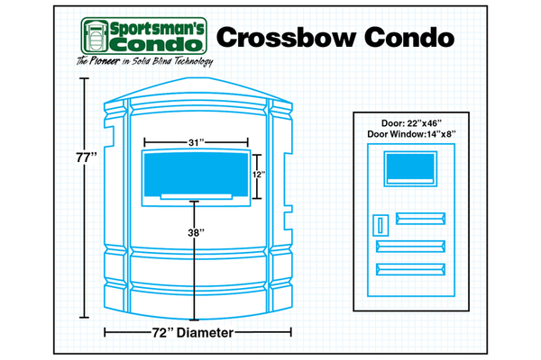 Sportsman's The Crossbow Condo Southern Outdoor Technologies