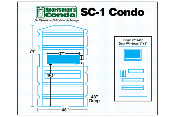 Sportsman's Condo The SC-1 Southern Outdoor Technologies