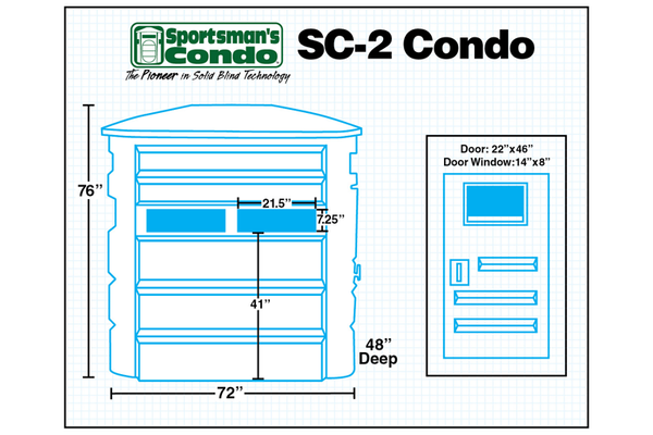 Sportsman's Condo The SC-2 Southern Outdoor Technologies