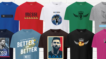There's An Inspiring Story Behind Every New Messi Brand Graphic Tee
