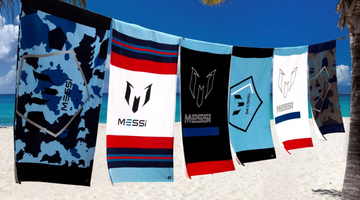 Beach Towels & Bathrobes: The Messi Store's Latest Launch!