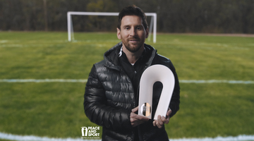 Leo Messi Wins Champion For Peace Award