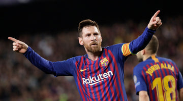 Lionel Messi Toasts Fashion Brand Launch in Barcelona
