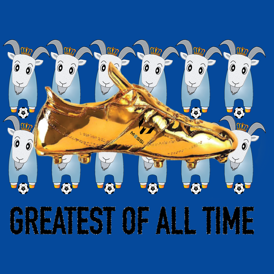 All Over Goat Golden Crampoon Kid's T-Shirt