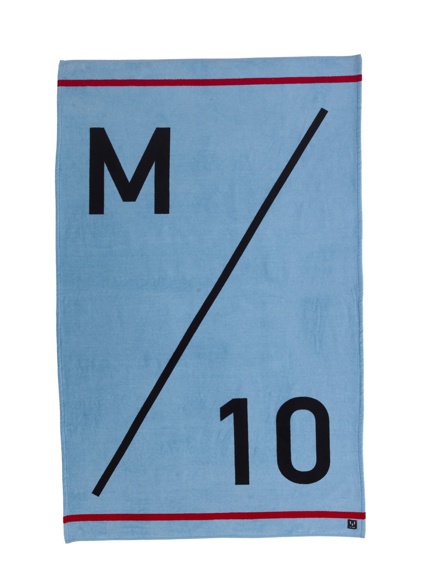 Messi M/10 Beach Towel