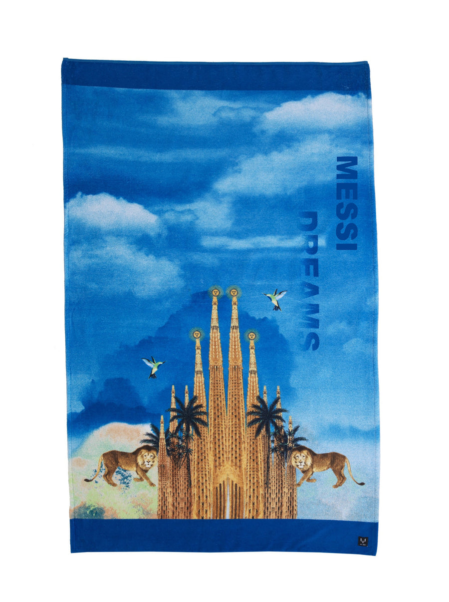 Messi Dream Print Beach Towel
