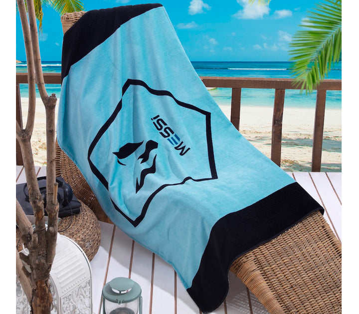 Messi Pentagon Beach Towel