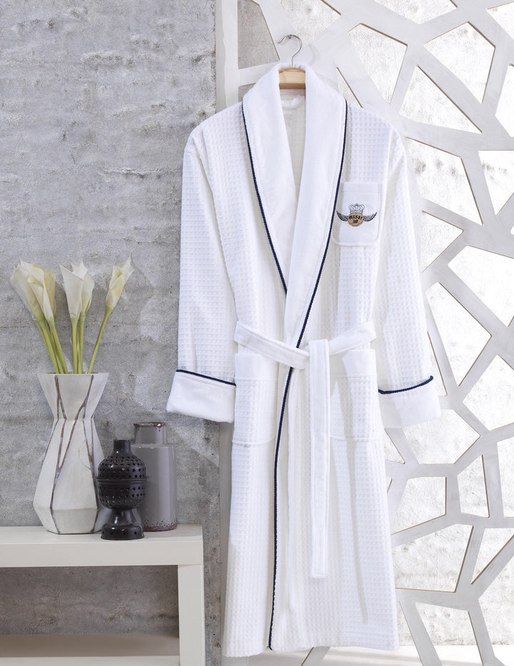 Golden Ball Waffle Bathrobe