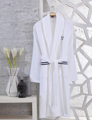 Tonal Logo Bathrobe