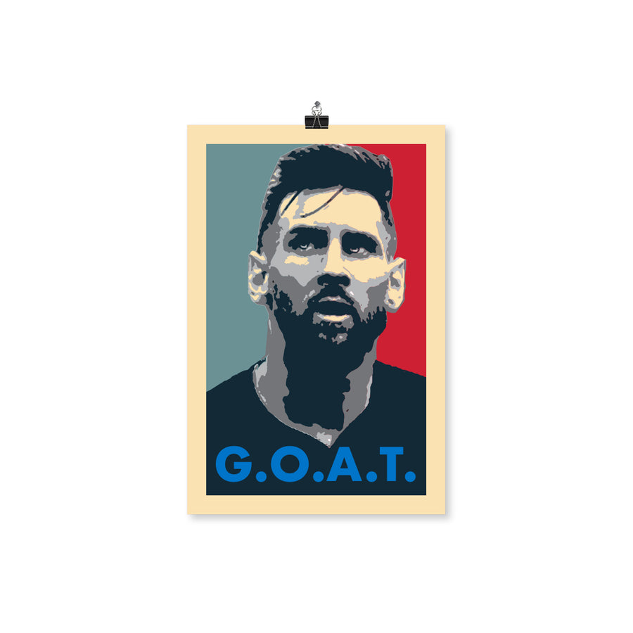 Face of G.O.A.T. Poster 12X18