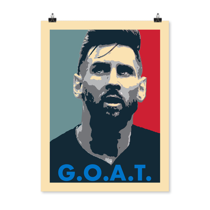 Face of G.O.A.T. Poster 18X24