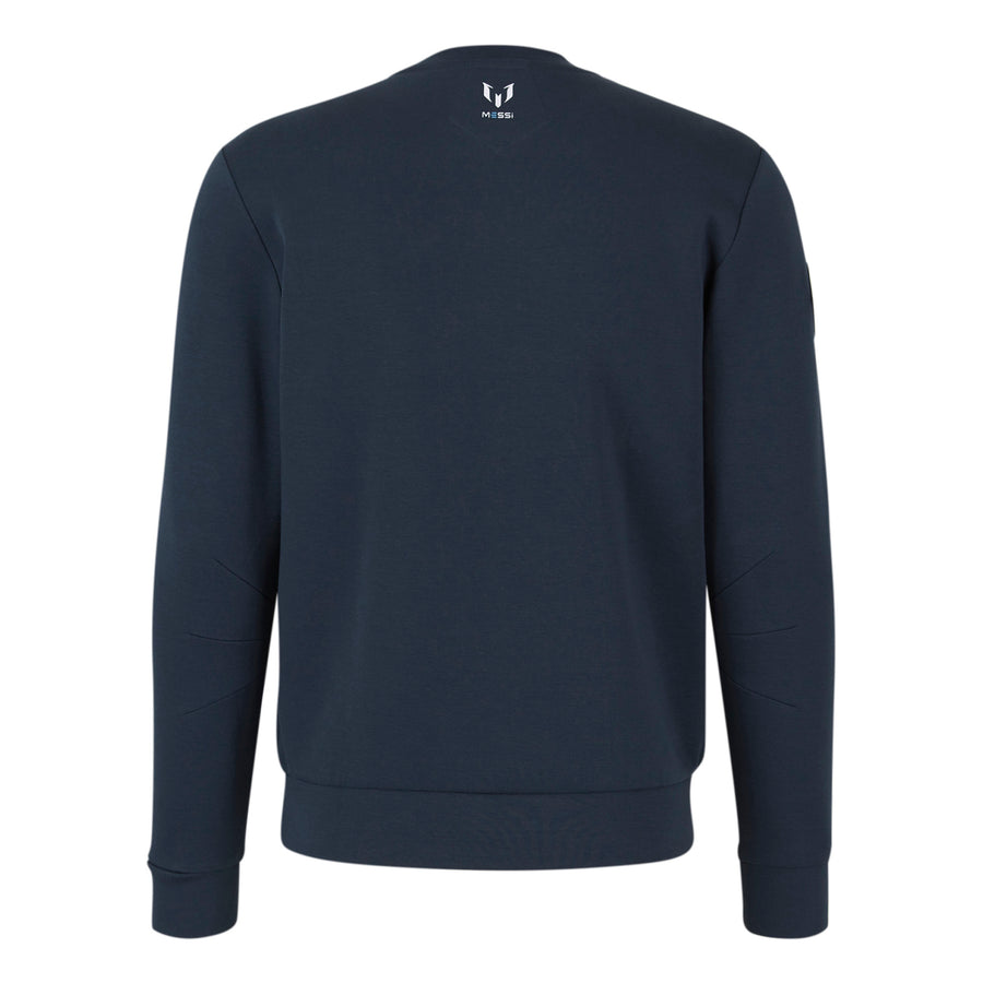 Messi Zip Pocket Sweatshirt - Navy Blue