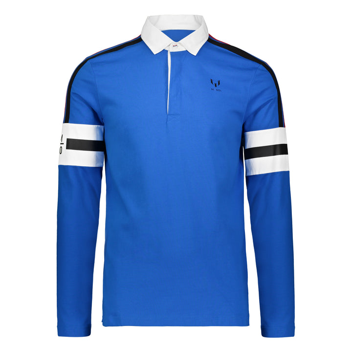 M10 Rugby Long Sleeve Shirt - Ocean Blue
