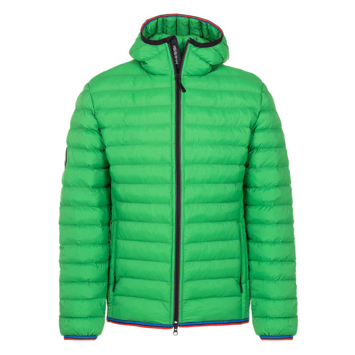 Classic Lightweight Down Hooded Jacket - Green