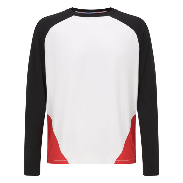 MESSI Colorblock Pentagon Long Sleeve Tee