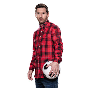 Messi Two Pocket Plaid Shirt