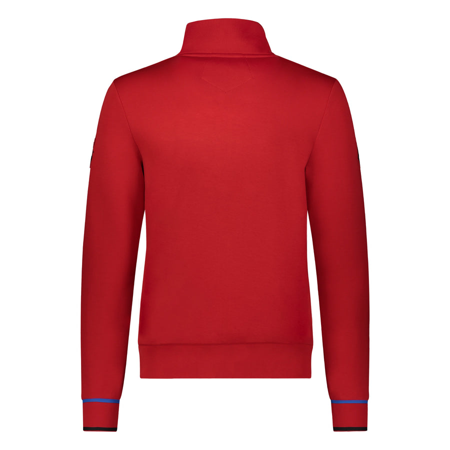Messi Signature Cuff Track Jacket - Logo Red