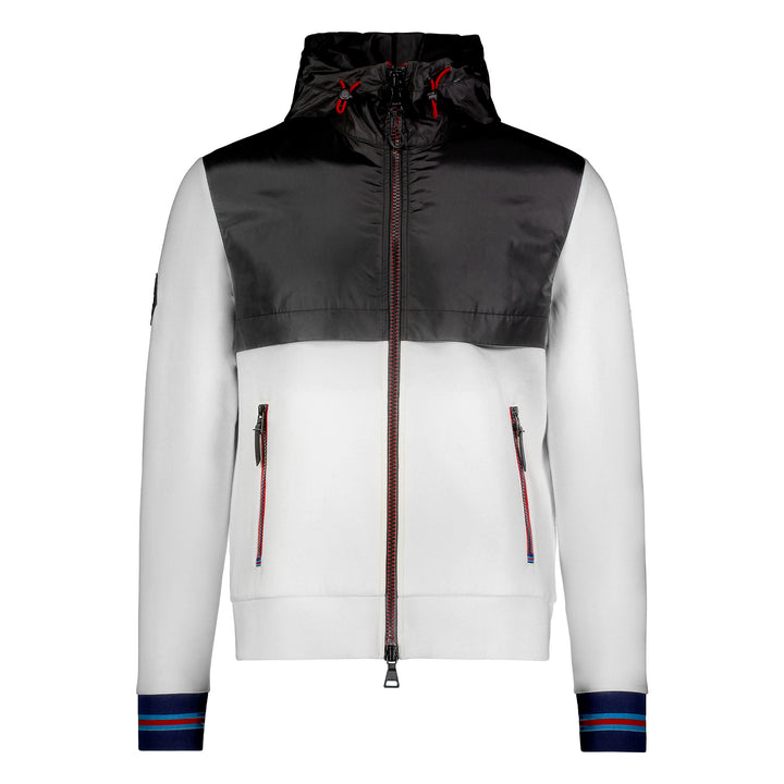 Messi Signature Stripe Hooded Jacket - Off White