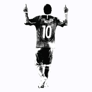 Messi Silhouette Graphic T-Shirt