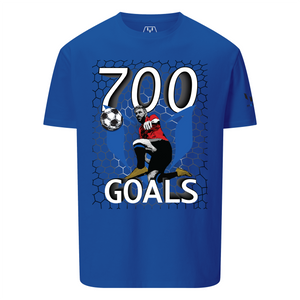 700 Goals Messi Silhouette Graphic T-Shirt