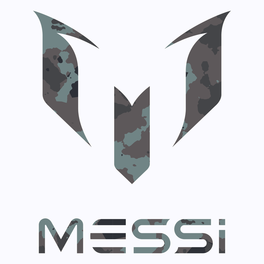 Messi Camo Logo Graphic T-Shirt
