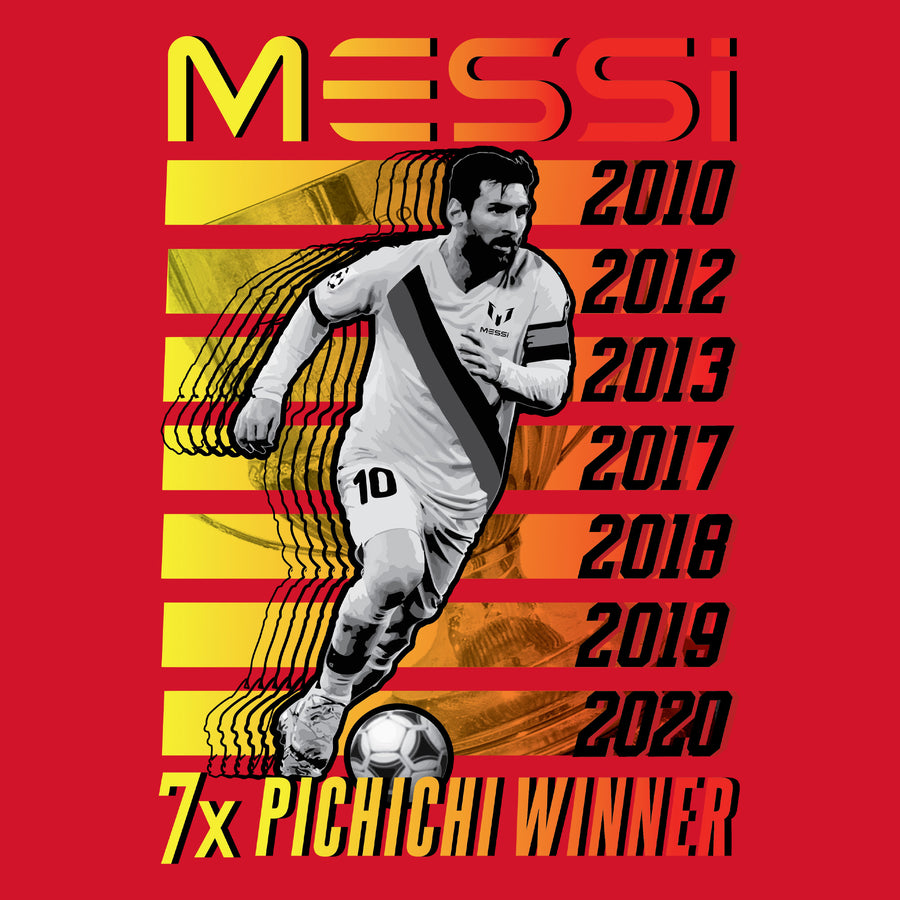 7 x Pichichi Winner Graphic T-Shirt