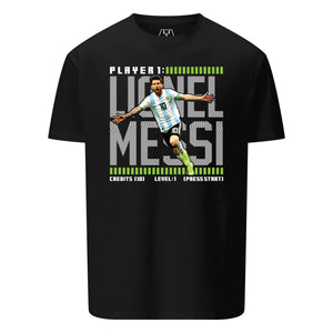 MESSI GAMER GRAPHIC T-SHIRT