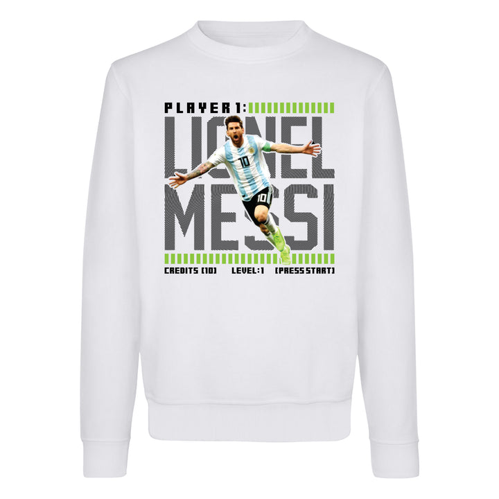 Messi Gamer Crewneck Sweatshirt