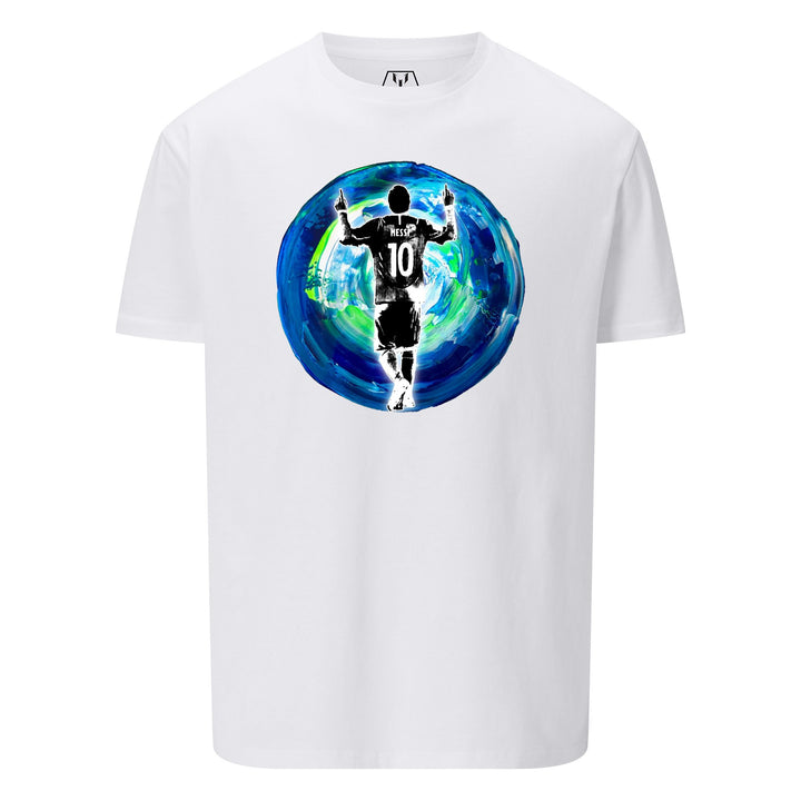 Messi Earth Silhouette Tee