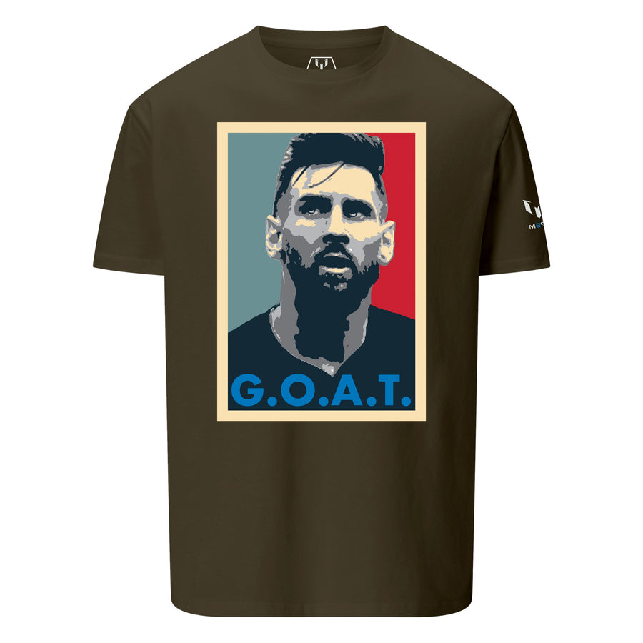 MESSI FACE OF G.O.A.T. GRAPHIC T-SHIRT