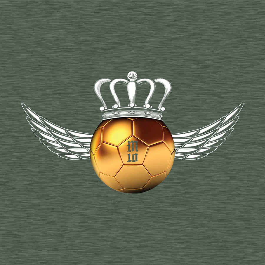 Golden Ball Wings Kid's Graphic T-Shirt