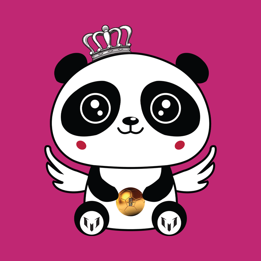 Panda Wing Golden Ball Kid's T-Shirt