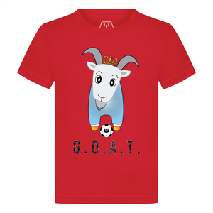 Golden Crampoon G.O.A.T. Kid's T-Shirt