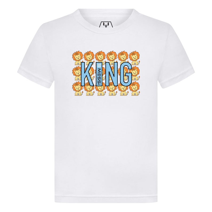 All Over Lion King 10 Messi Kid's T-Shirt