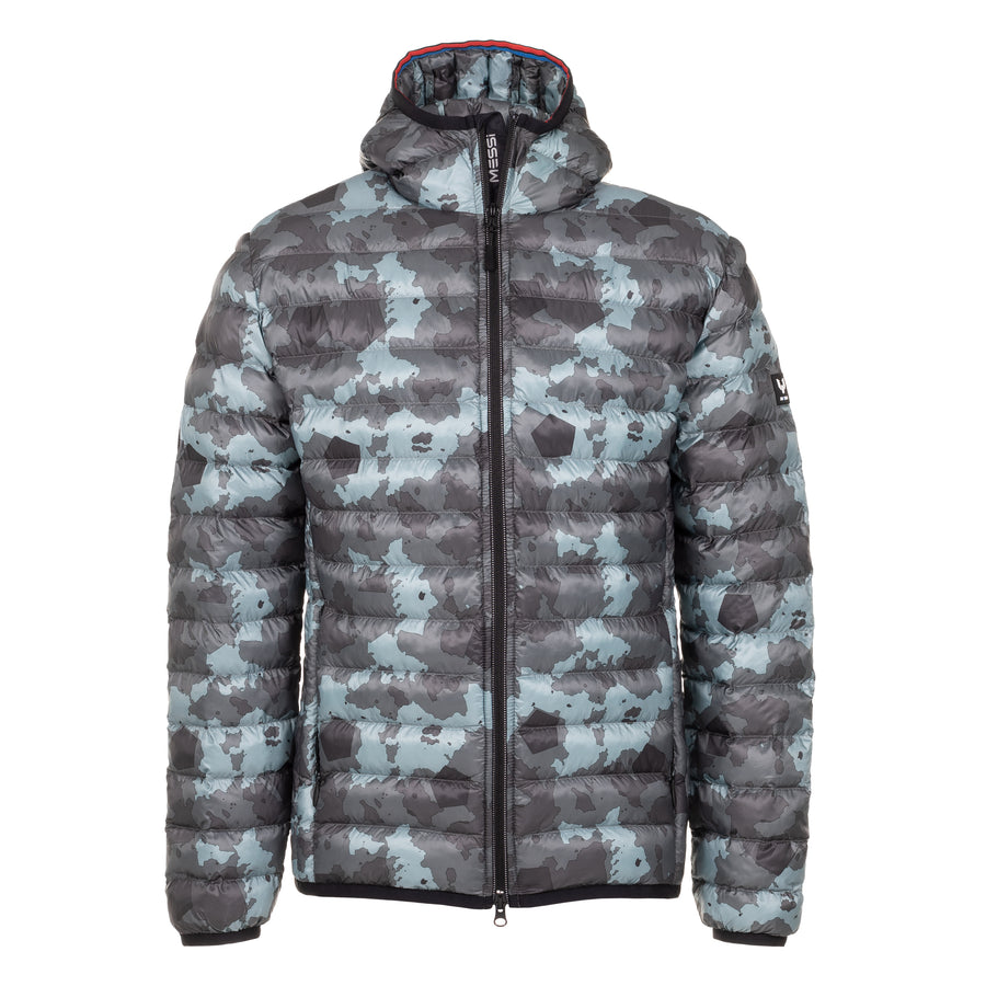 Classic Camo Lightweight Down Hooded Jacket