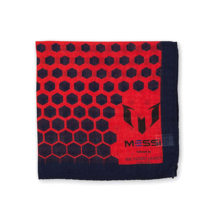 Messi by Richard James Pocket Square