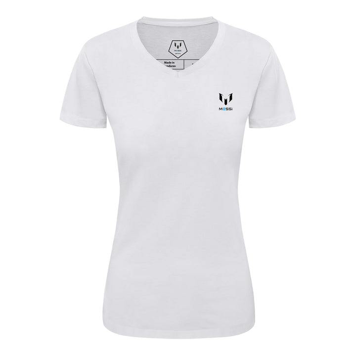 Lion Crest Wing Back Women's V-Neck T-Shirt