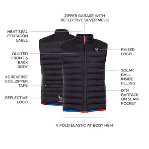 Messi Lightweight Solarball Tech Vest - Red