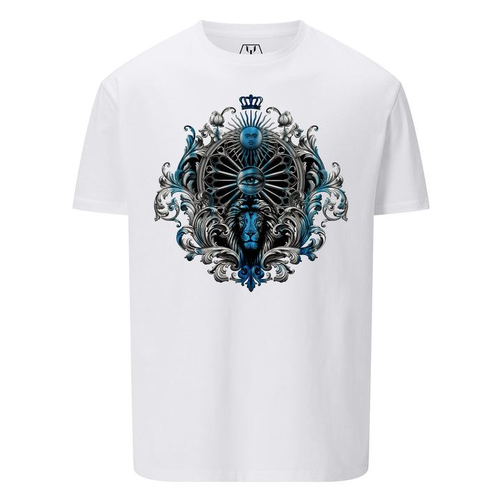 Leo Tattoo Montage T-Shirt - White