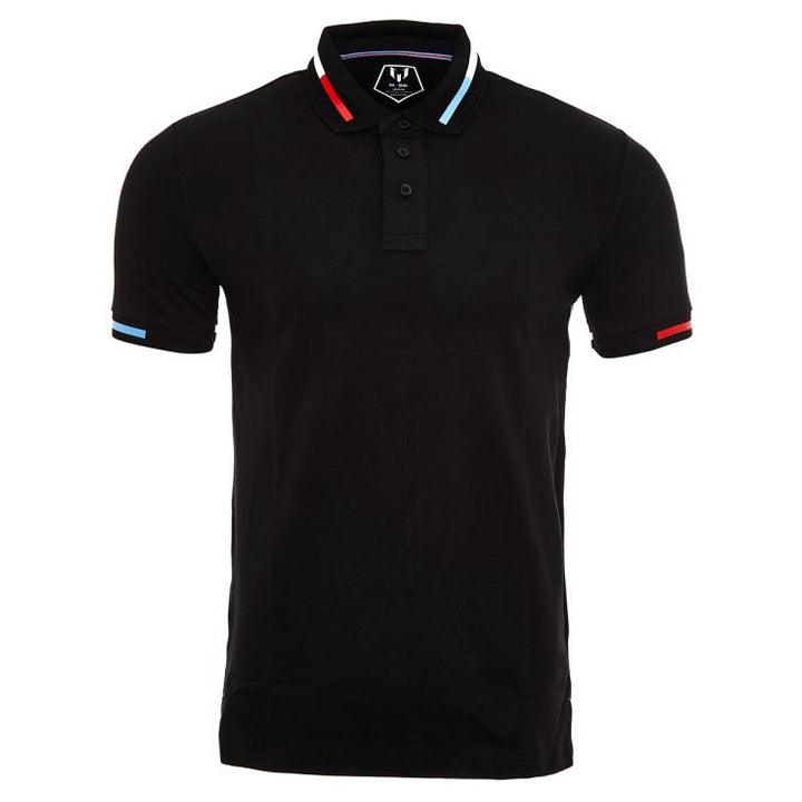Messi Short Sleeve El-Clasico Polo Shirt - Black
