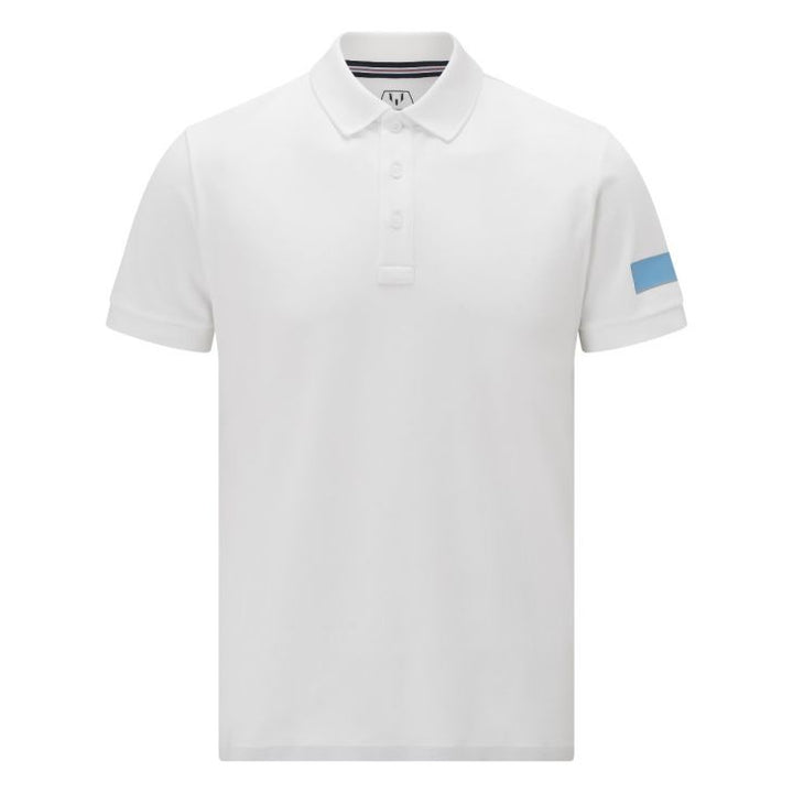 Messi Short Sleeve Captains Polo Shirt - White