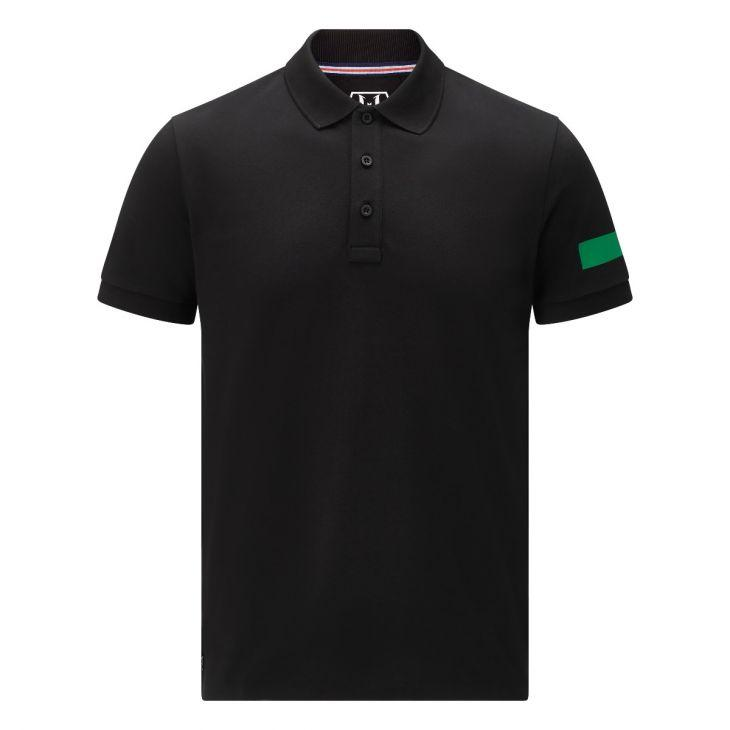 Messi Short Sleeve Captains Polo Shirt - Black