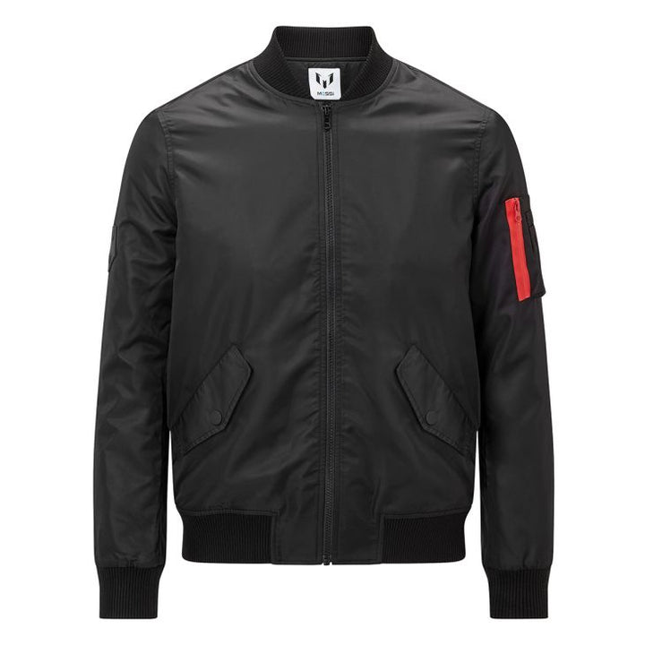 Messi Bomber Jacket - Black