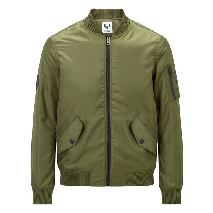 Messi Bomber Jacket - Olive