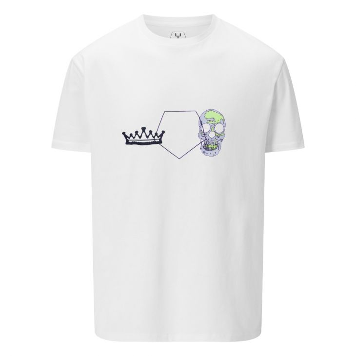 LM361 Messi Crown & Skull Short Sleeve T-Shirt
