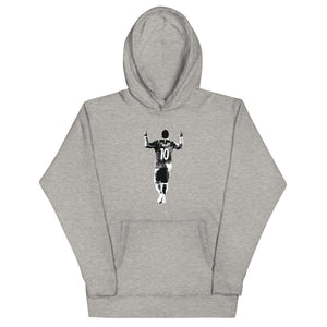 Messi Silhouette Graphic Hoodie