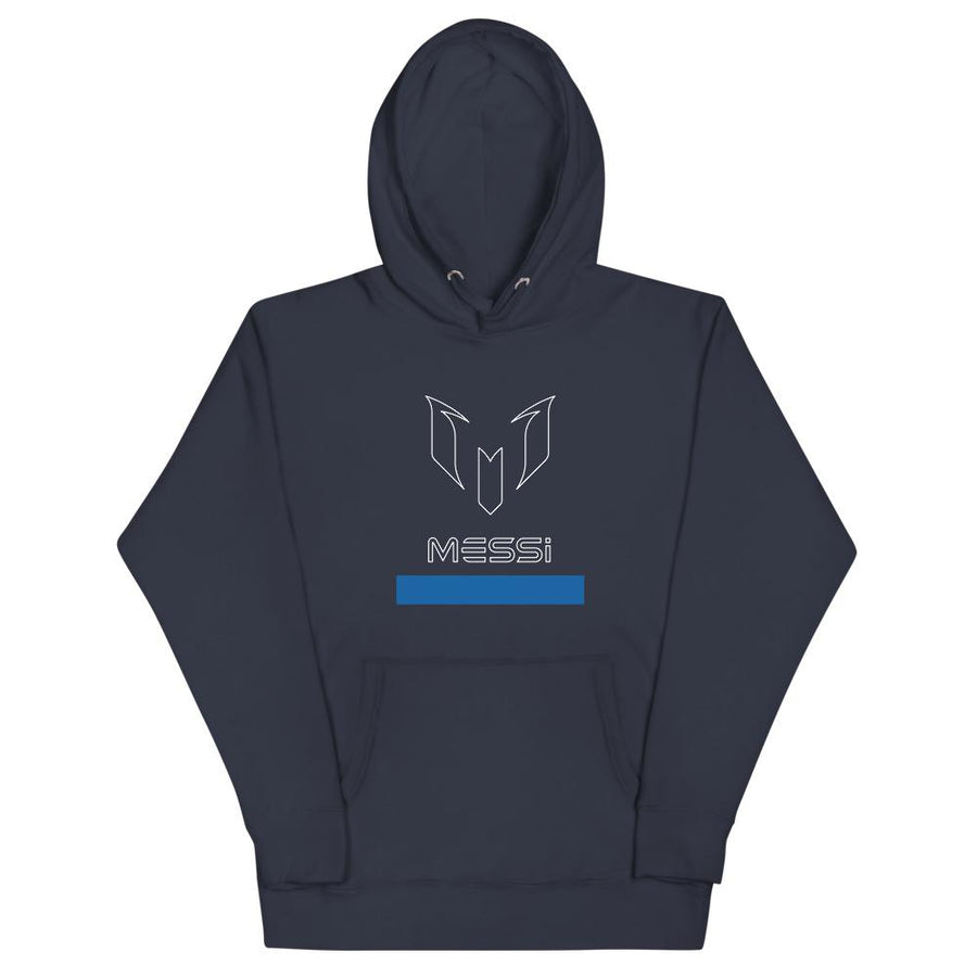 Messi Outline Logo Graphic Hoodie