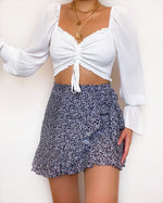 Waiting Game Crop Top - White - Kameli Boutique
