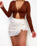 Massimo Crop Top - Brown