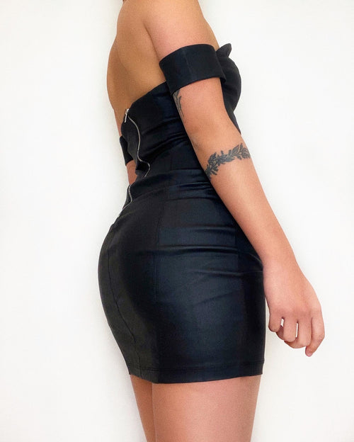 Mamasita Mini Dress - Black